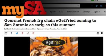mySA - Gourmet French fry chain #GetFried coming to San Antonio