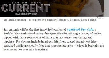 San Antonio Current - #getfried Fry Cafe Is Coming to San Antonio