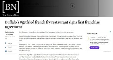 The Buffalo News - Buffalo's #getfried french fry restaurant signs first franchise agreement