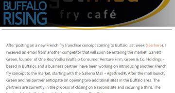 Buffalo Rising - French Fry Wars | #getfried®