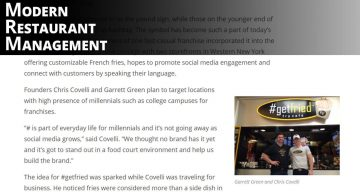 Modren Restaurant Management - #Hashtag as Hype: Fast-Casual Chain Fries Up Marketing Concept