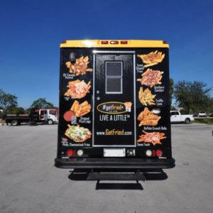 Houston Texas Get Fried Food Truck